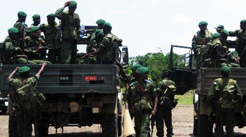 Les FARDC au Nord-Kivu