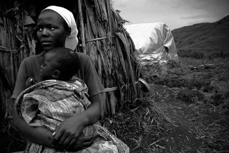 woman in kivu