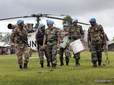 MONUSCO deploys troops in Bunagana to secure populations