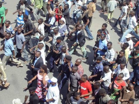 Goma protest