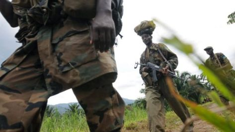 Rwandan Defence Forces Soldiers