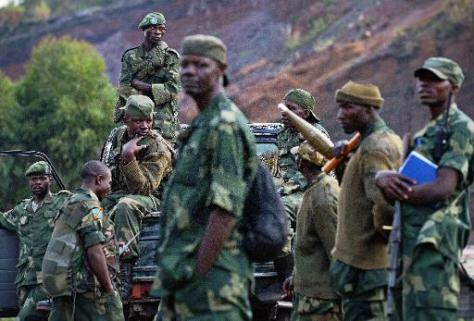 FARDC Troops