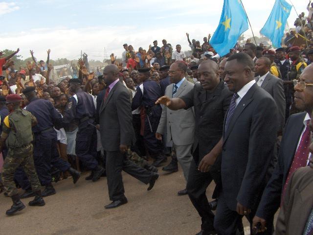 Joseph Kabila à Mbuji-Mayi
