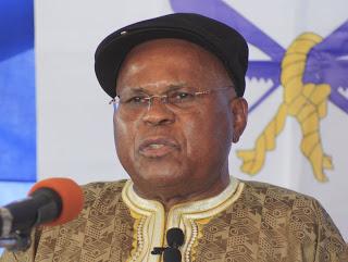 Etienne Tshisekedi Wa Mulumba, lors de la conférence de presse du 20/02/2011.