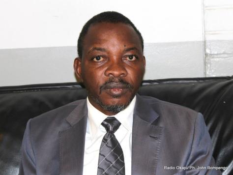 Mukebayi Nkoso, journaliste. Radio Okapi/ Ph: John Bompengo