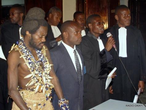 Procès de Gedeon Kyungu, seigneur de guerre, Lubumbashi, 2008,RDC