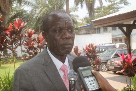 Le conseiller médical du ministre de la Sante, Roland Shodu Lomami