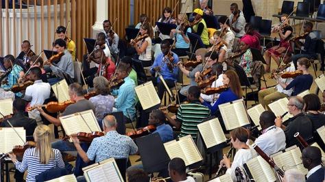 The Orchestre Symphonique Kimbanguiste