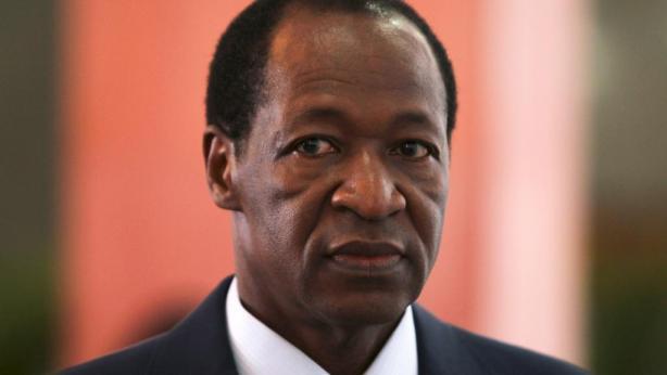 Blaise Compaoré, chef de l'Etat burkinabè, au pouvoir depuis 1992.