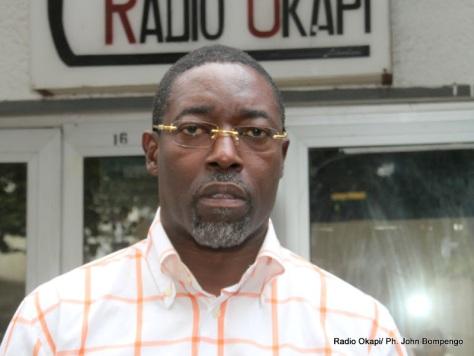 Francis Kalombo, député national de la RDC. Radio Okapi/ Ph. John Bompengo