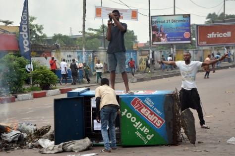 Manif Kinshasa