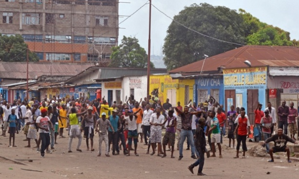 Congo Protest Election Law