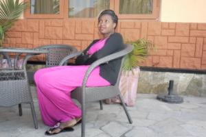 Grace Kabera une jeune fille de Goma.