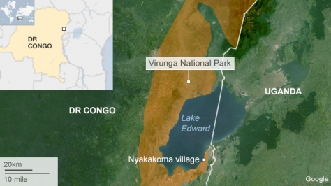 virunga_park map