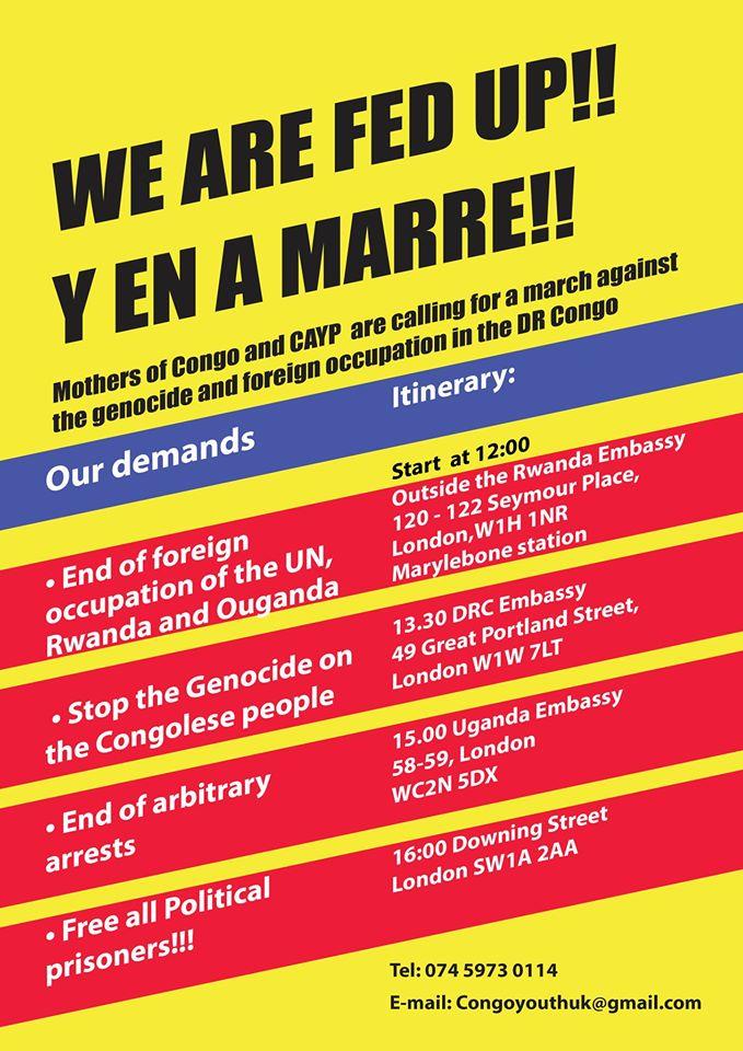 Y en A Marre Protest poster