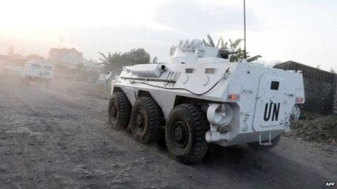 UN troops in DRC