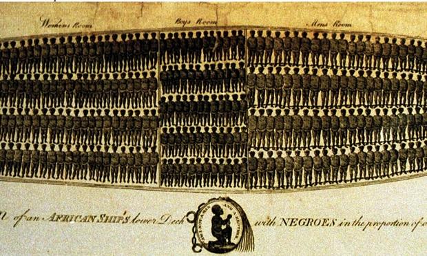 plan of slave ships