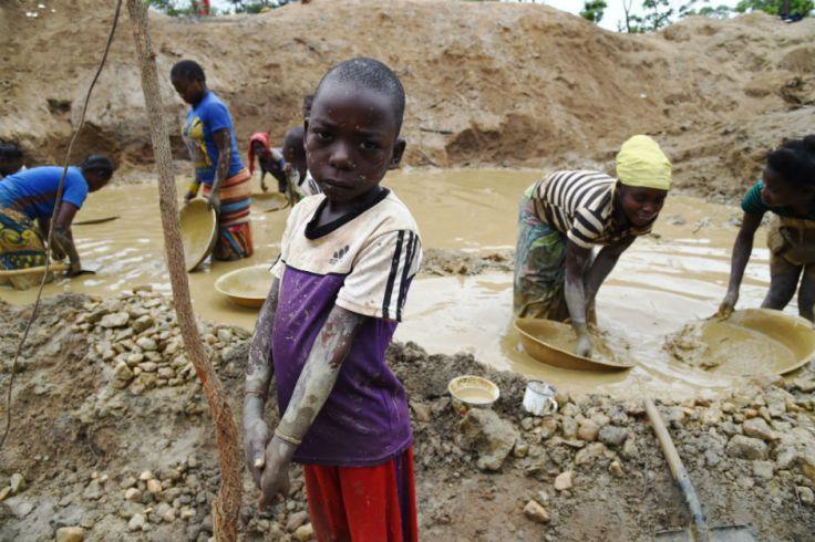Cobalt mine Congo