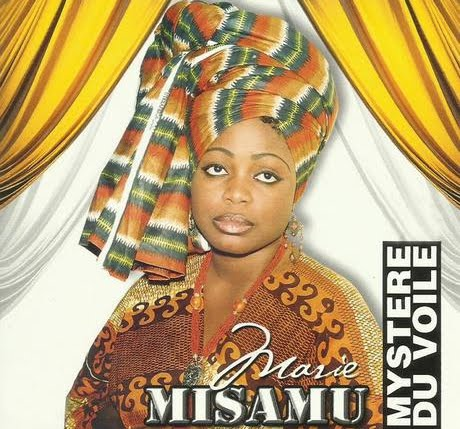"""La photo de couverture de l'album """"Mystère du voile"""" de la chanteuse Marie Misamu décédée le 16 janvier à Kinshasa."""
