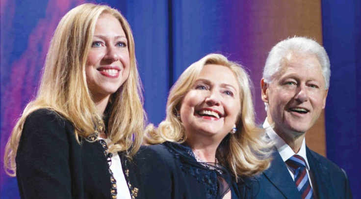 clinton family