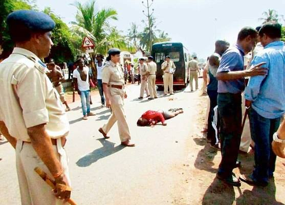 Victime en inde