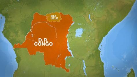 map Congo Ulele