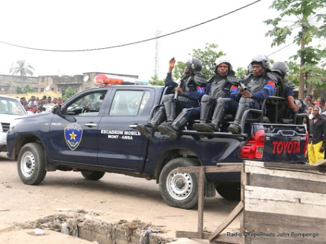 Police a Kinshasa
