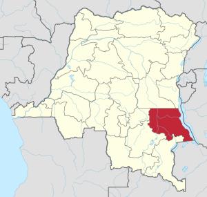 RDC: Province du Tanganyika
