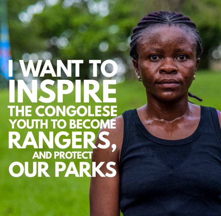 Angele Virunga park