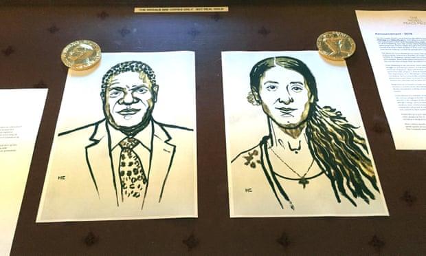 Murad Mukwege drawing