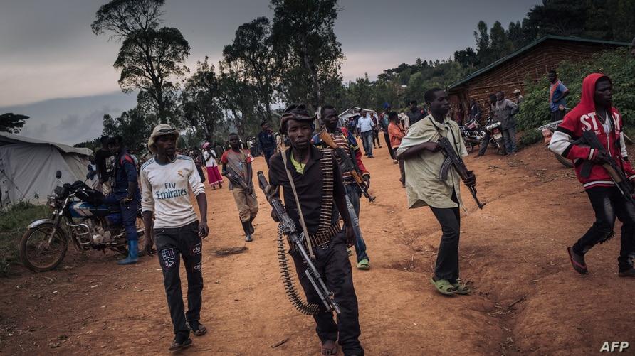Armed militias in Ituri DRC